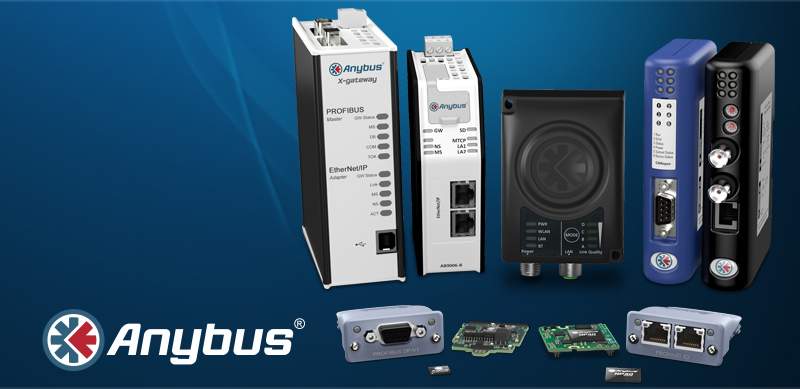 Anybus — Multi-network connectivity with fieldbus and industrial Ethernet
