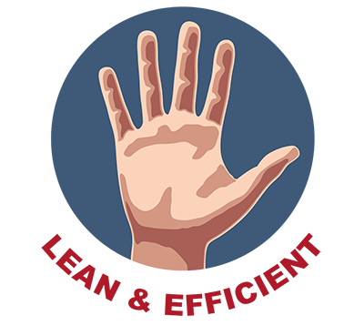 High-Five-5 - Lean & Efficient