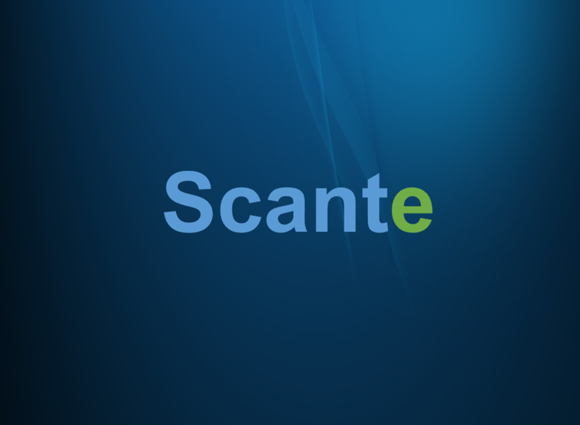 Scante IoT apps