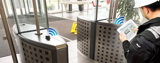 Wirelessly access building equipment